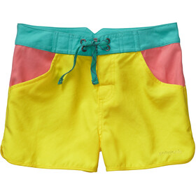 Patagonia Forries Shorey Board Shorts Girls Blazing Yellow